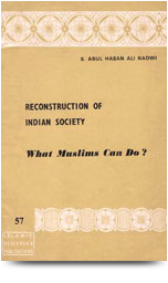 reconstruction of indian society what muslims can do
